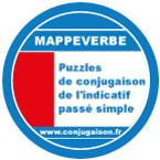 Mappeverbe puzzle de conjugaison